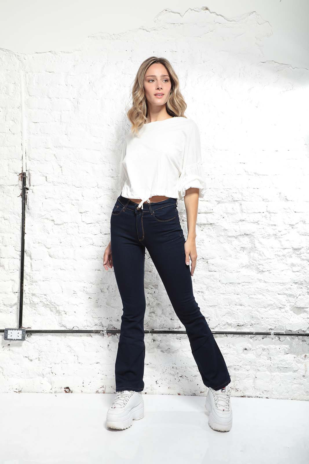 Cezeta Jeans oxford azul