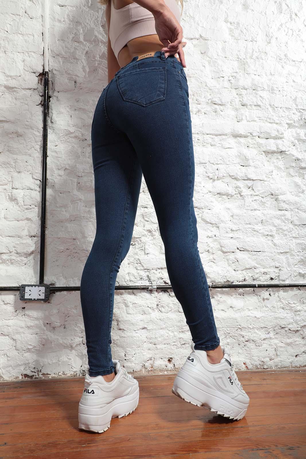 Cezeta Jeans Chupin azul