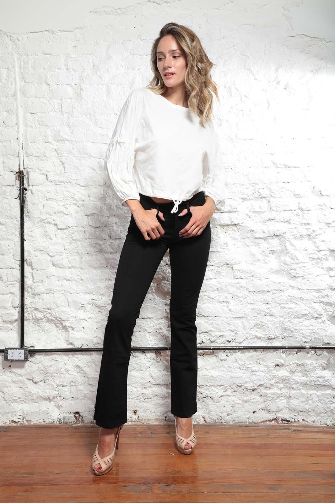 Cezeta Jeans oxford negro